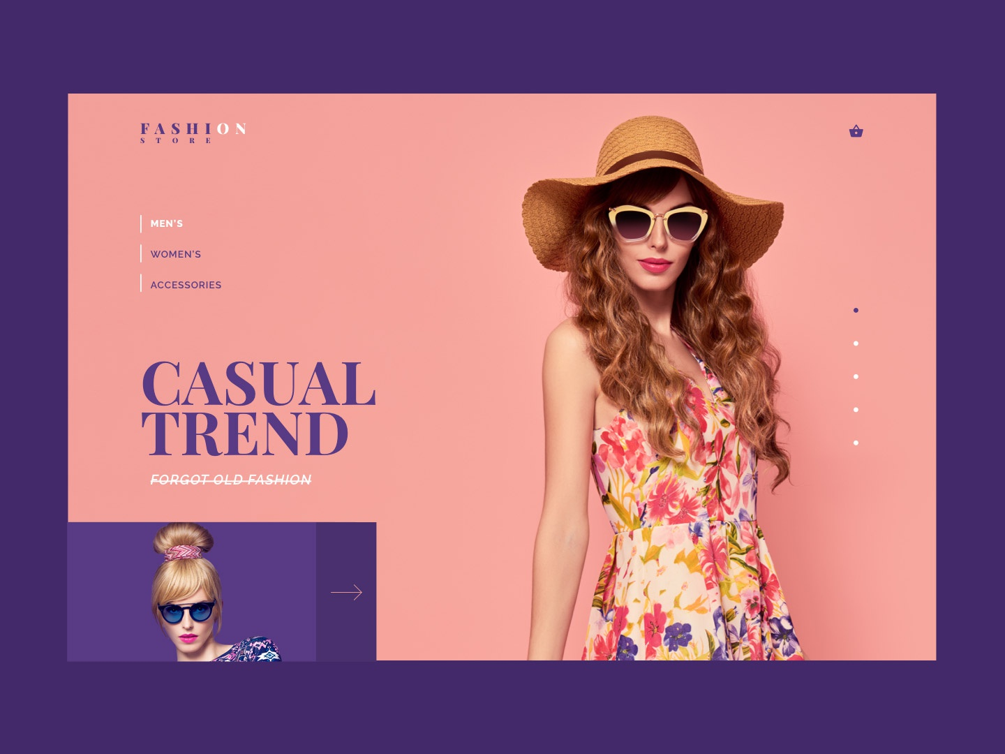 Fashion Store uidesign online shop