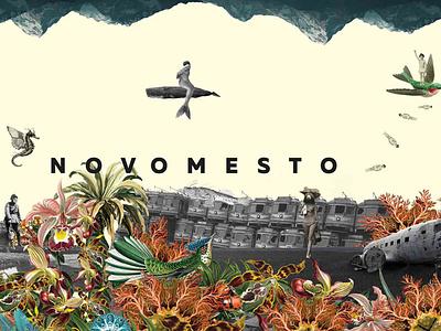 Novomesto cd cover design brand concept branding package design cd artwork cd cover artwork collage design packaging illustration