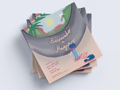 Buscando a magia Cover Illustration children book illustration childrens book book digital painting digital illustration artwork cover illustration