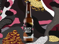 Black Irish beer