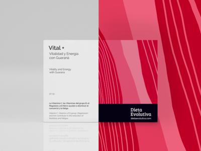 Packaging design Vital+ cinema 4d illustration brand concept package branding package design design packaging