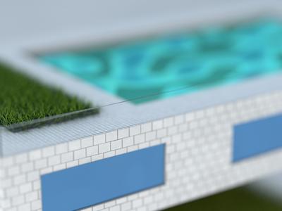 building detail building tiles maxon c4d 3d artist 3d 3d art design illustration cinema 4d