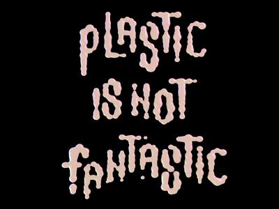 Plastic Lettering tipografia 3d typeface lettering cinema 4d
