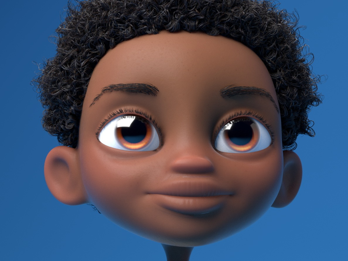 Girl Avatar illustration children kid modo zbrush modeling 3d characterdesign character lookdevelopment artdirection