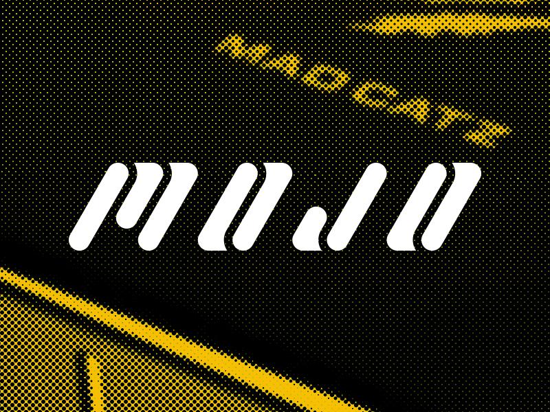 Mojo logo brand branding retro gaming console obscure aviture mojo
