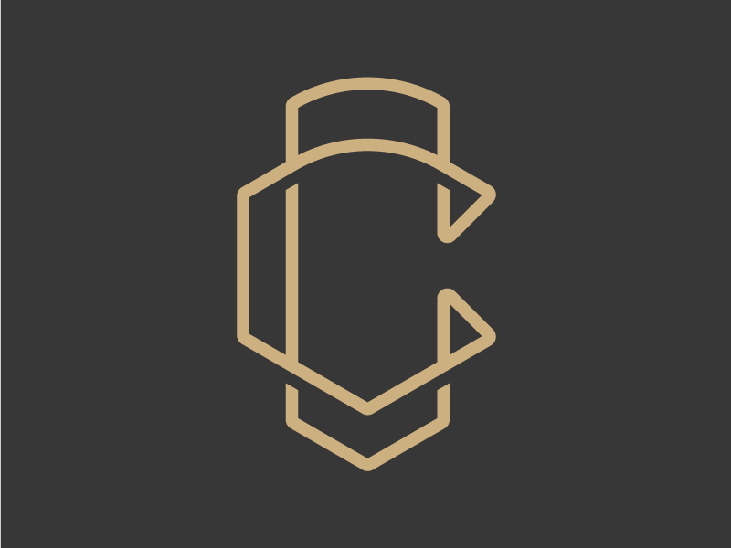 Single Letter Logo - Daily Logo Challenge #04 daily logo challenge two c monogram letter c daily logo