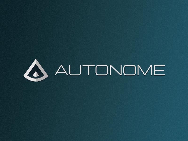 Self Driving Car Logo - Daily Logo Challenge #05 autonome daily logo challenge design logo smart car self driving car daily logo
