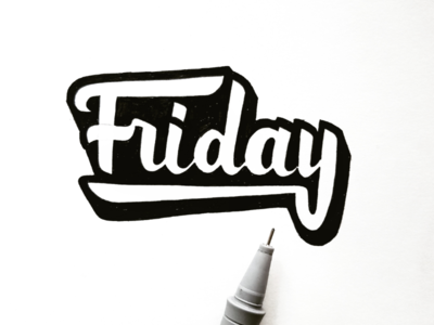 Lettering Friday