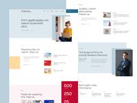 CPSRK Website -  WIP faculty website faculty ux uiux website web design ui design ui