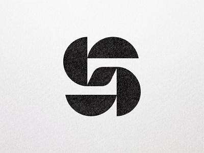 2020 Logos - S semicircle geometric modernism logo design branding brand monogram logomark