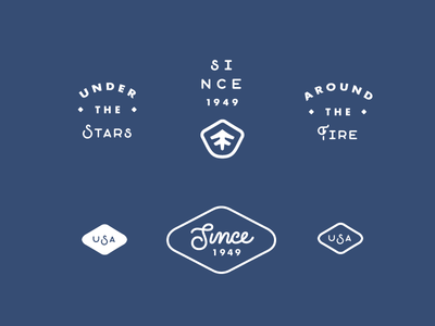 Stansport badges