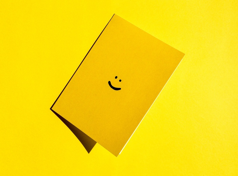 smiley face card happy smiley face happy face greeting card
