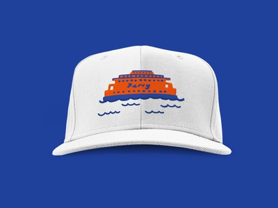 Staten Island Ferry Merch design branding nyc staten island new york illustration