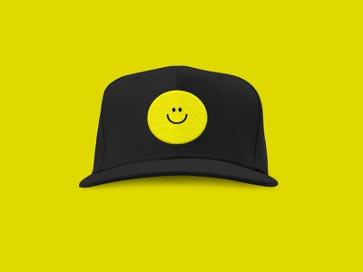 Smiley Face Totebag illustration yellow face happy face smiley face smile merch swag tote totebag