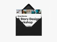 Story Design Workshop Invitation