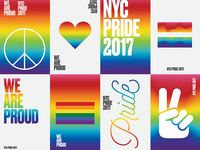 New York Pride 2017 Posters