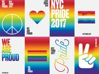 New York Pride 2017 Posters