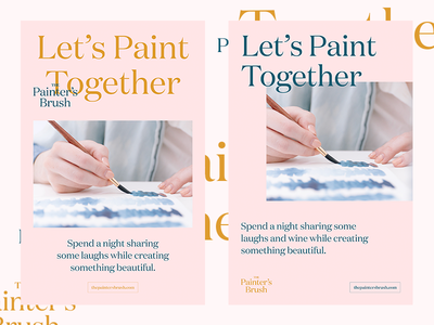 The Painter's Brush branding