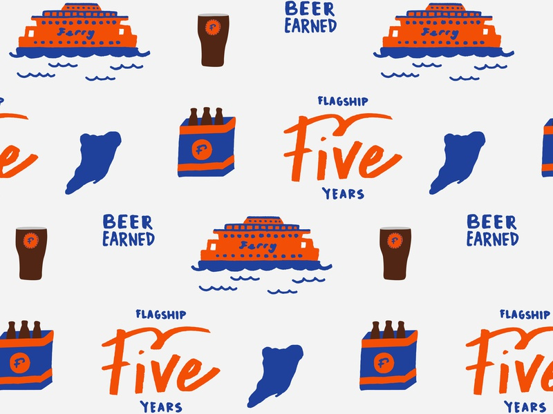 Flagship Brewery 5 Years Pattern