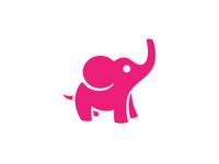 Icon Revamp: Elephant (Pink)