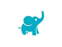 Icon Revamp: Elephant (Bright Blue)