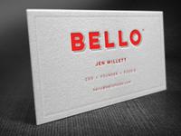 Business Card [Bello]