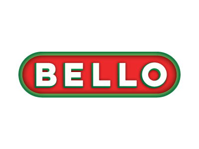 BELLO Identity, Update  digestive frozen pizza non-gmo gluten free pizza dough mix pizza design brand identity logo update refresh bello