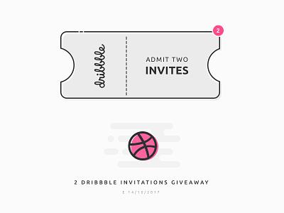 [Ended] 2x Dribbble Invites draf invitation invites invite dribbble