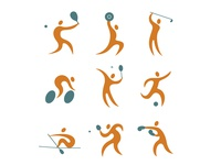 Olympic Games icon set (redesign)
