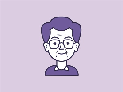Adrian Frutiger (board game figure) board game design illustration vector character design minimal adobe illustrator