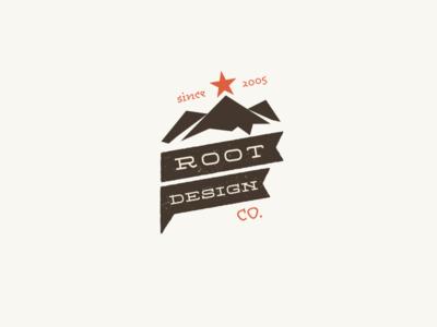 Root Design Company Anniversary Logo 2