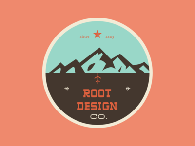 Root Design Company Anniversary Logo 4 logo