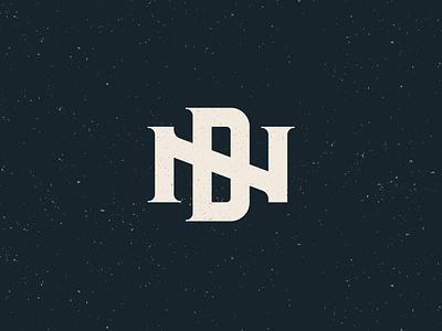 ND Monogram retro vintage design branding vector nd monogram logo design logo