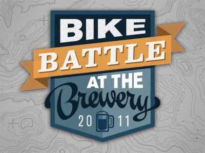 Bike Battle logo bikes beer awesome