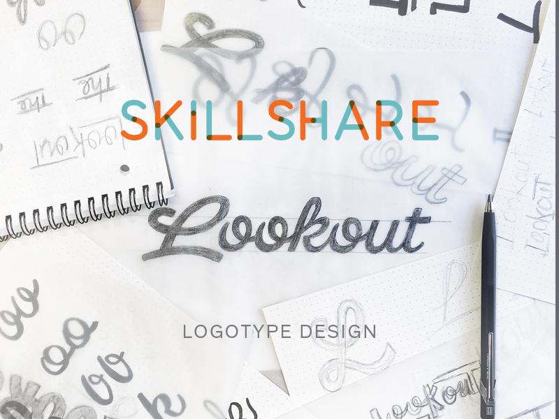 Skillshare Logotype Design logotype logo identity branding skillshare typography lettering