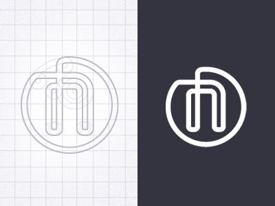 N Identity logo identity branding icon