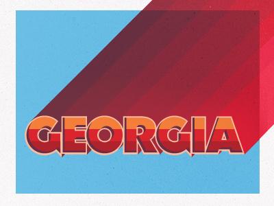 Georgia type presentation speaking festival