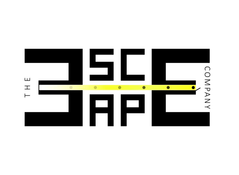 Logo for the ESCAPE company V2 design icon flat branding typogaphy logos logodesign logo design logo