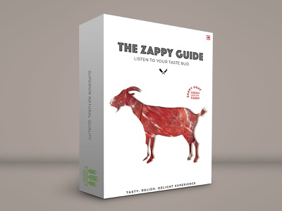The Zappy Guide creative design package mockup package design package identity design clean typography art branding