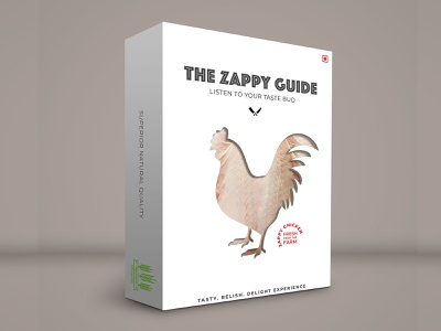 The Zappy Guide identity package design package mockup creative design clean design branding