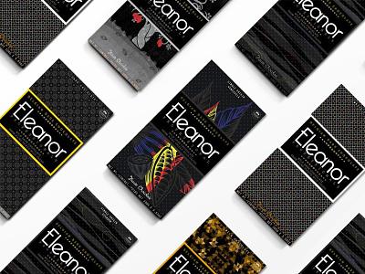 Chocolate Bar Packaging for Windsor Chocolatier chocolate bar package mockup packagedesign illustration vector art identity design branding