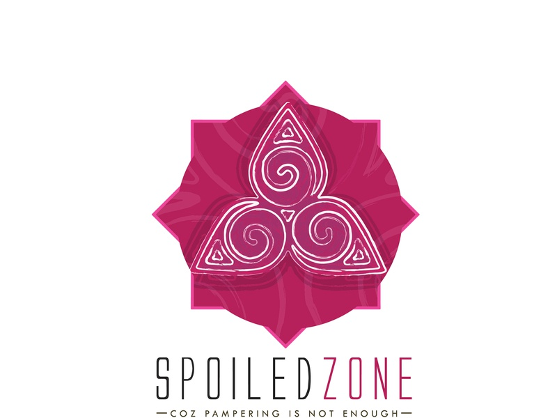 Spoiled Zone creative design illustration art typography identity design clean logo 2d logo