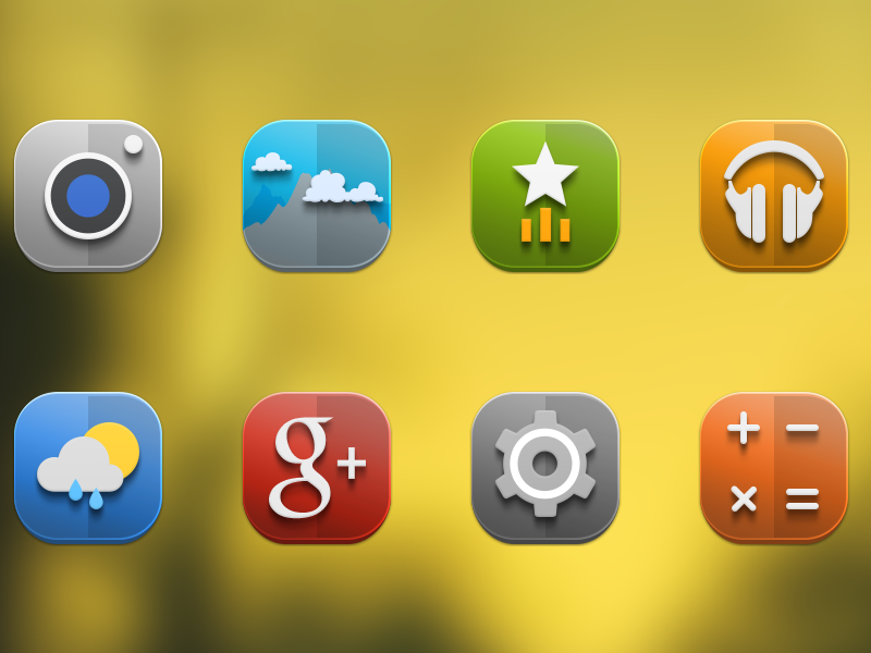 Domo android icons