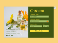 Credit Card Checkout-Daily UI 002