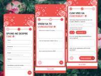ASII Apply Form- Mobile version design
