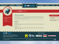 FIICODE Gamedev Area Page