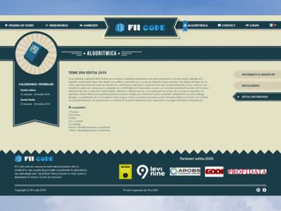 FIICODE Algoritmica Area Page
