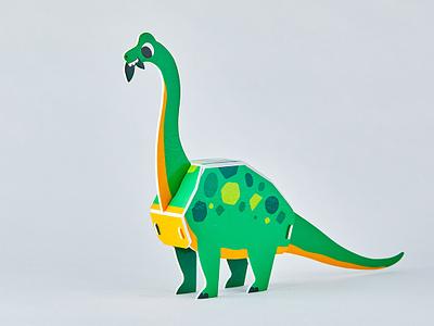 Brachiosaurus 3D 3d dinosaur dinosaurs brachiosaurus dinos dino