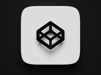 Codepen Icon 3D blender 3d icon logo illustration ux ui design