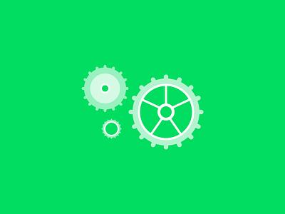 Wheels green shyp productivity team product publication illustration design ui ux